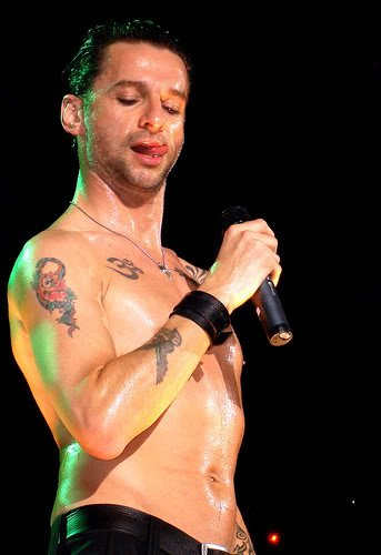 Happy Birthday Dave Gahan, Depeche Mode kicks off lunch today at noon. RadioBDC .com