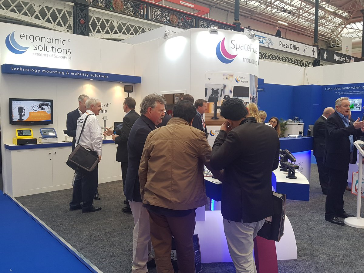 test Twitter Media - For technology mounting solutions at the Point of Sale, Point of Payment and Point of Service visit @Ergonomic_Sols stand 518 #RBTE2017 https://t.co/9soce14l26