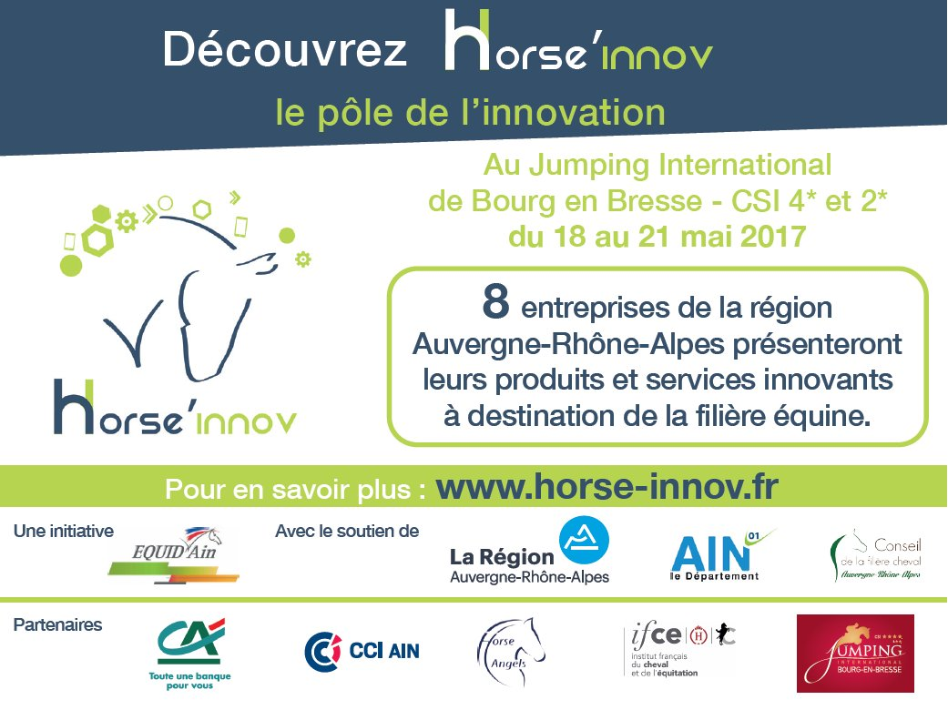 test Twitter Media - [EVENT] Retrouvez-nous @auvergnerhalpes @JumpingBourg du 18 au 21 mai #startups #innovation #investissements Horse Angels Partenaire ! https://t.co/AxmsGGoxZ8