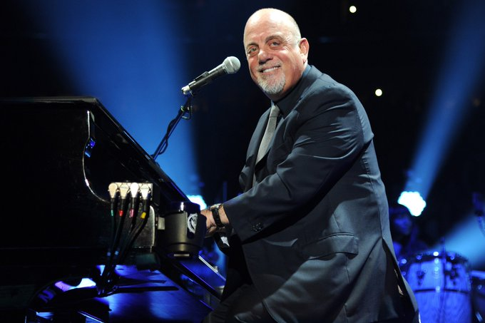 Happy Birthday to the one and only, Billy Joel! The piano man! Cheers!