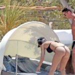 Pool-Freuden mit seiner Georgina Ronaldo und das sichere Auge für die richtigen Bälle