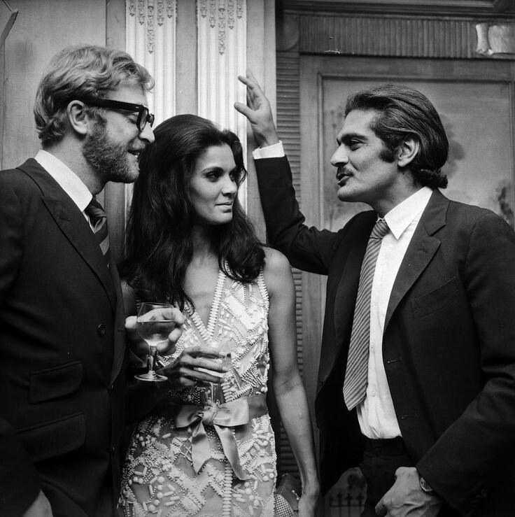 Michael Caine - Florinda Bolkan - Omar Sharif https://t.co/7GYxATVgnq