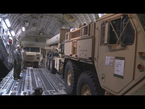 VIDEO -  Controversy in South Korea over US missile defence system