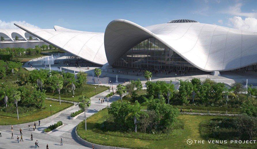 💡新着💡政治でなくテクノロジーが統治する社会。未来都市計画ヴィーナス・プロジェクトの実行者が明かす「地上の楽園」とは?記