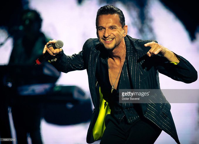 A tremendously happy birthday to the inspiring force of nature that is Dave Gahan!