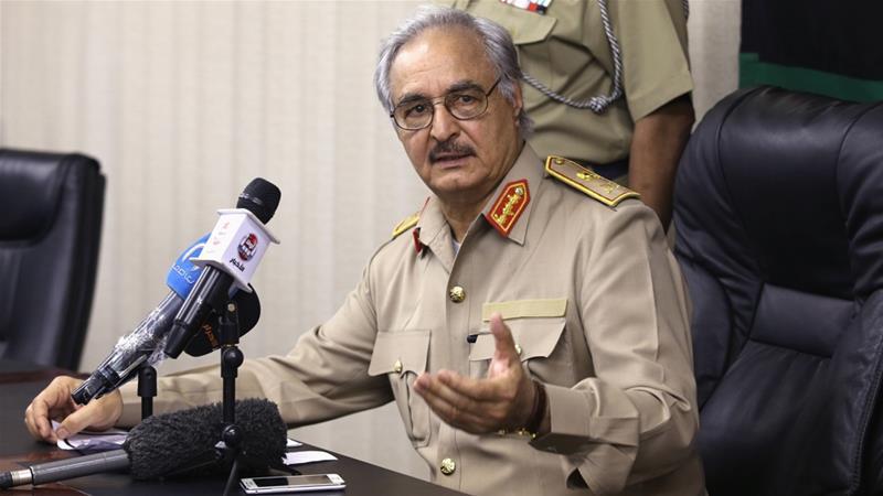 Khalifa Haftar named Libya's army chief