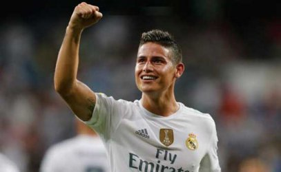 Manchester United offered the chance to buy James Rodriguez