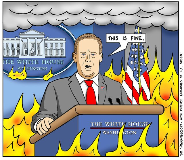 A Day In The Life Of Sean Spicer... https://t.co/oLkA5oBKe8