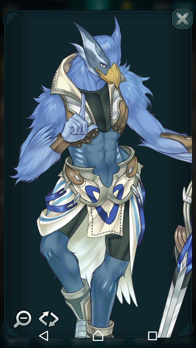 エンドライドってゲームのこのキャラクター、腰のくびれエッロ!