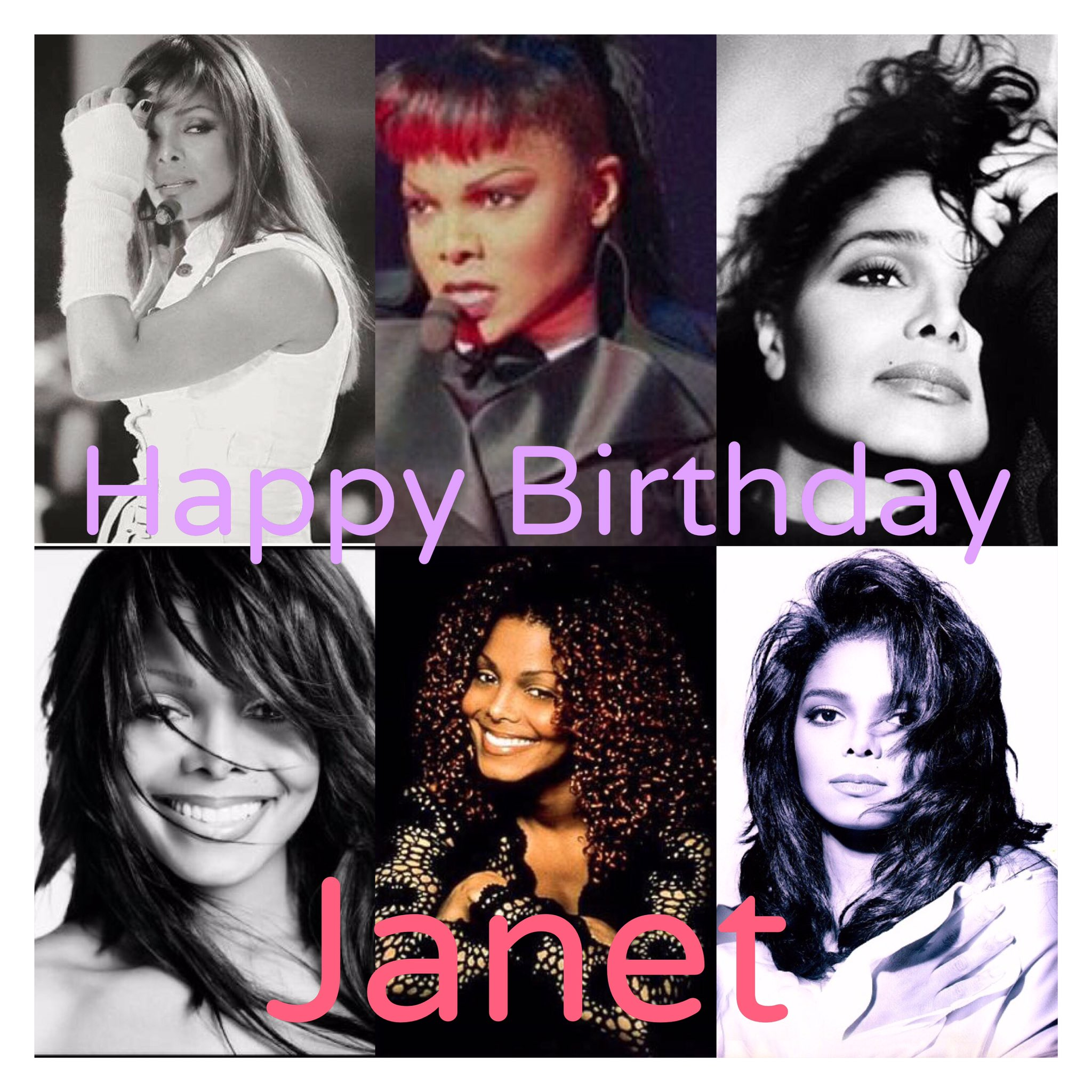 To the one and only Janet Jackson,Happy Birthday!!