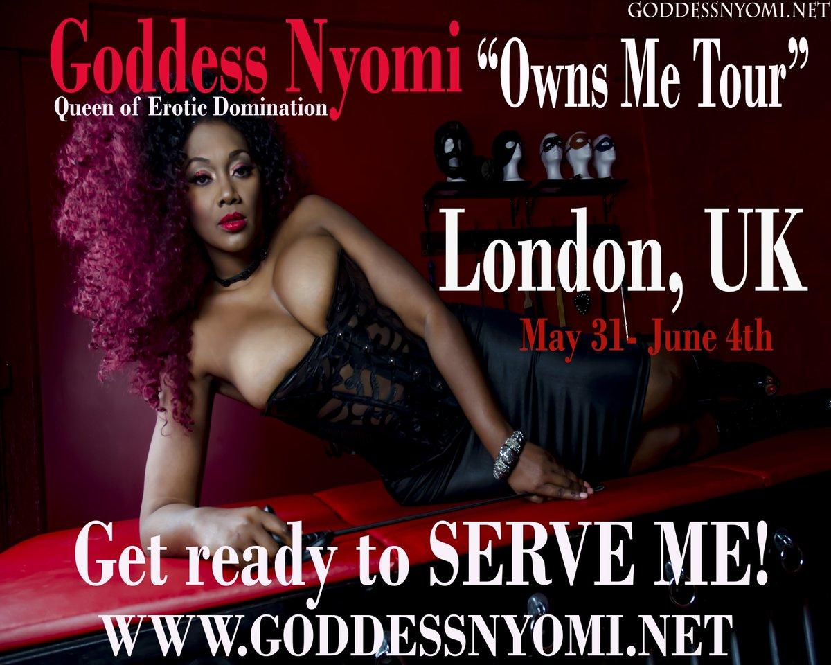 London get ready to bow down! Goddess Nyomi Owns Me Tour Heads To London Tsycn26mvC via