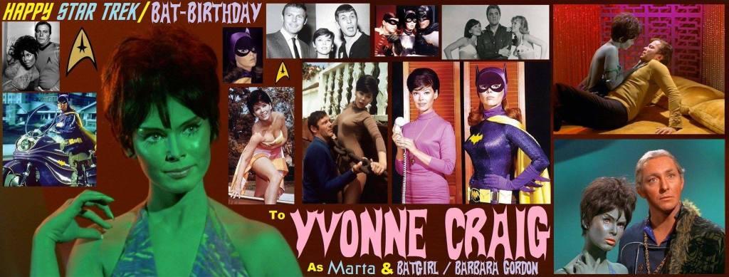 5-16 Happy birthday to the late YvonneCraig.