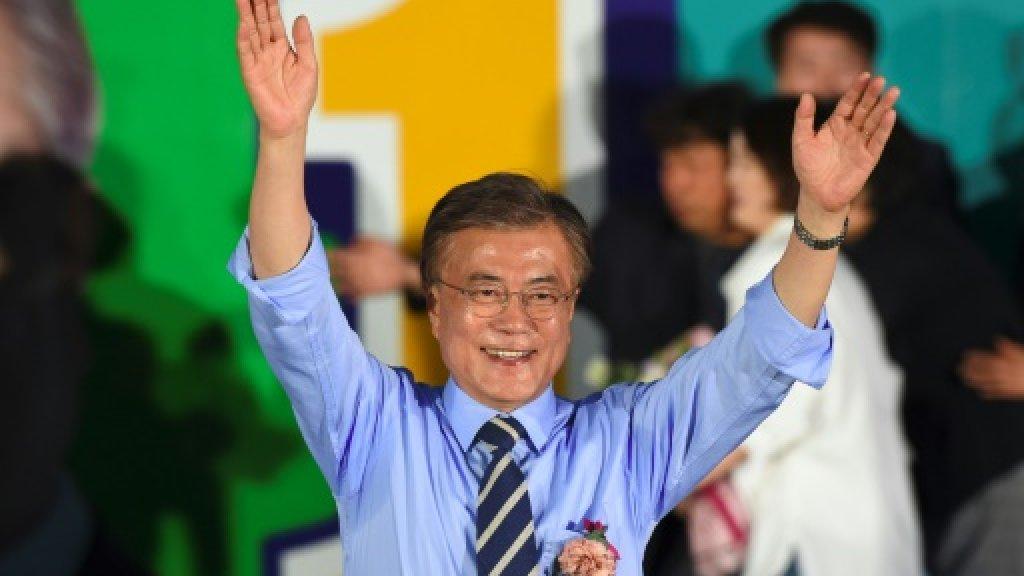 Activist, lawyer, president: South Korea's Moon
