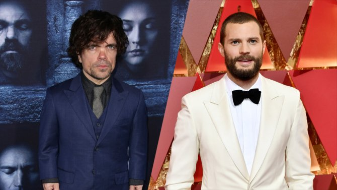 Fifty Shades of Thrones? Peter Dinklage and Jamie Dornan are teaming up for an @HBO film
