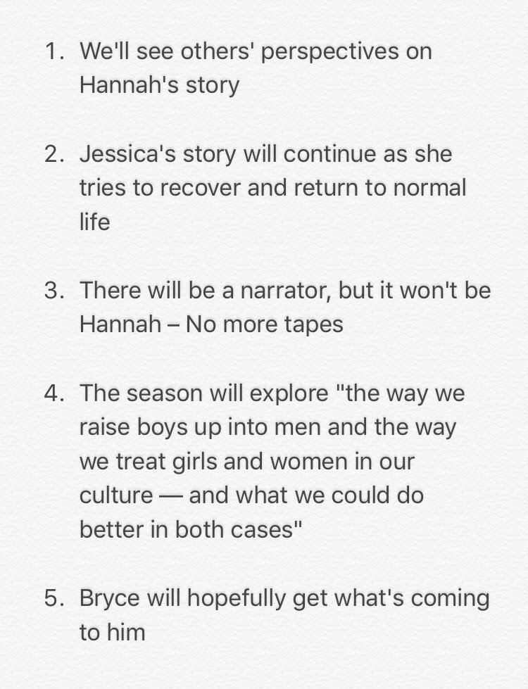 What we know about @13ReasonsWhy season 2 — so far https://t.co/PMUaIe6Zy8