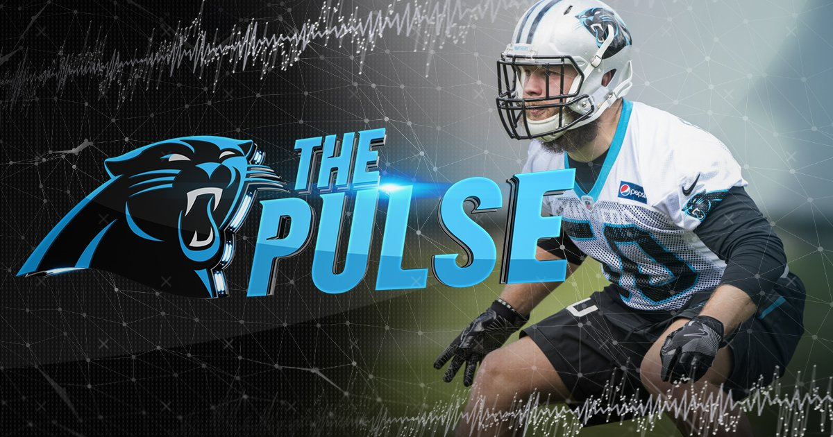 What did we learn from rookie camp? Find out on the #PanthersPulse  ��: https://t.co/n7ljrqAO2c https://t.co/glbCjnAjMb