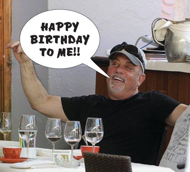 Happy bday Billy Joel!   Thanks for Lullabye!
