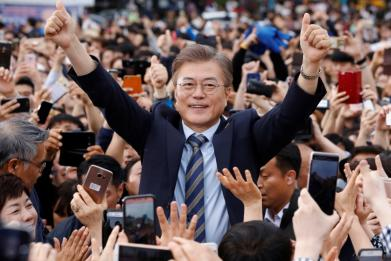 How will Donald Trump and South Korea's new president deal with Pyongyang's nukes?