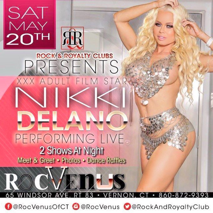 1 pic. Meet me live next weekend at @RockRoyaltyClub in Connecticut https://t.co/aChUfaZAUP