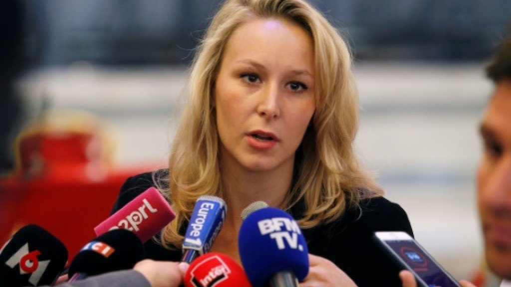 Marine Le Pen's niece quits French politics - for now