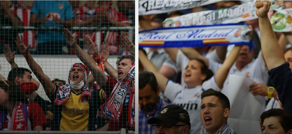 A tale of one city, two teams and a passion for the game of football: Atletico and Real.