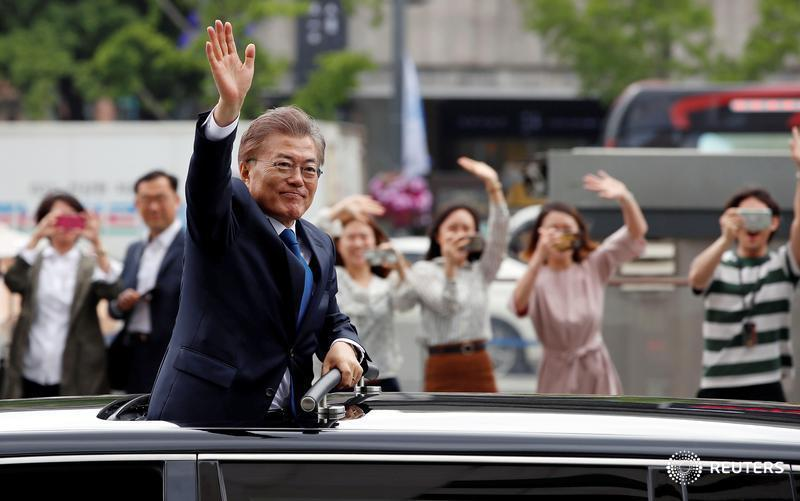 New South Korea president vows to address North Korea, broader tensions 'urgently'
