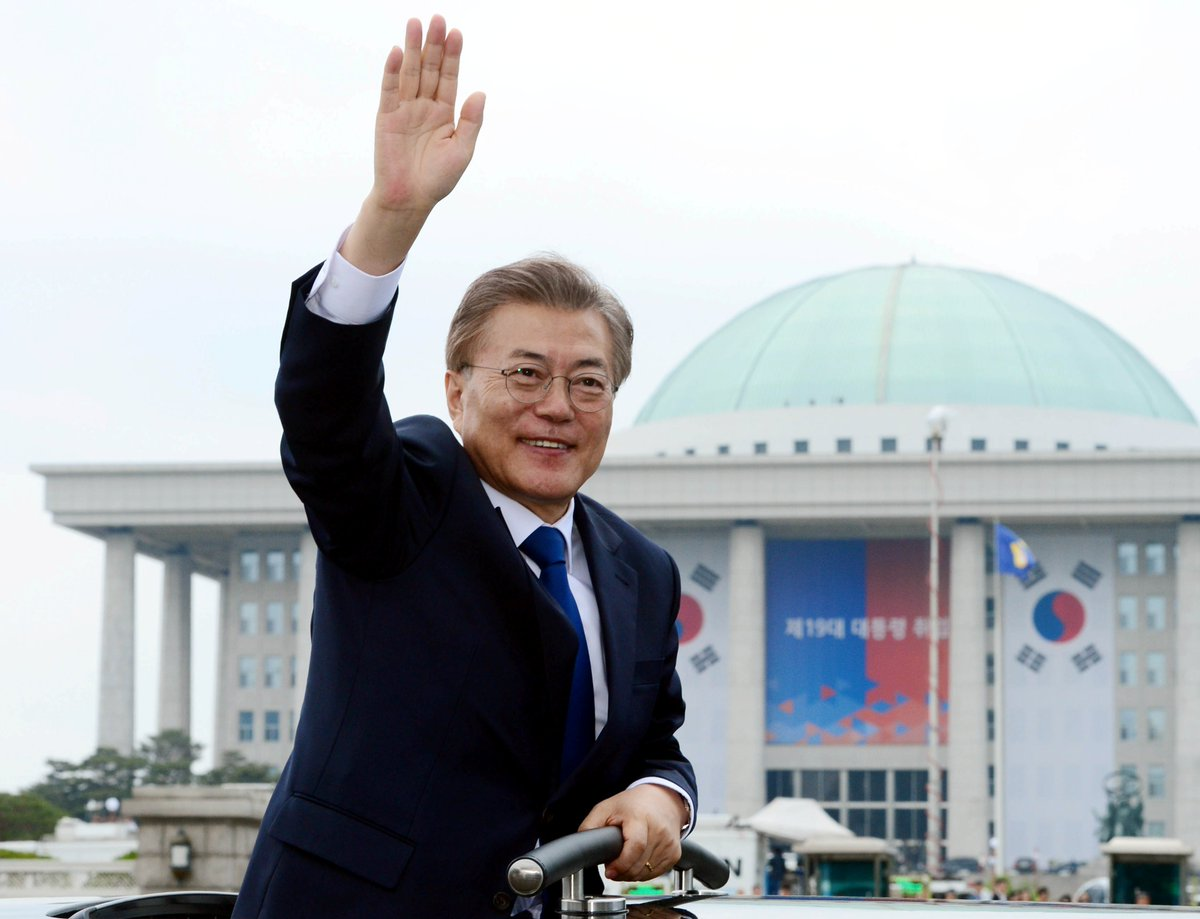 South Korea's new president could visit North Korea