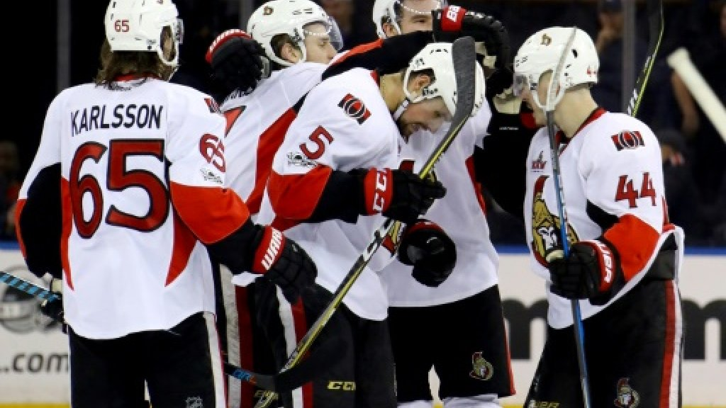 Senators advance as Rangers downed in NHL playoffs
