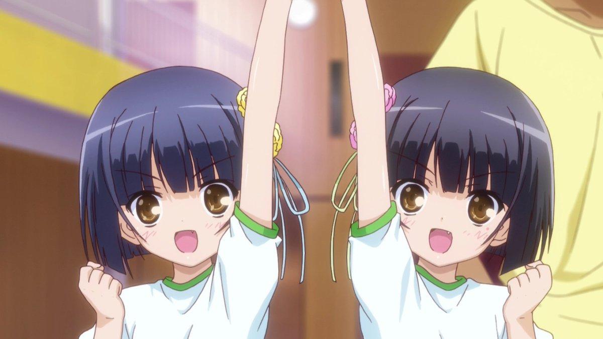 #ロウきゅーぶ!        #ロリノミクス 炉利双子前髪パッツンが可愛い