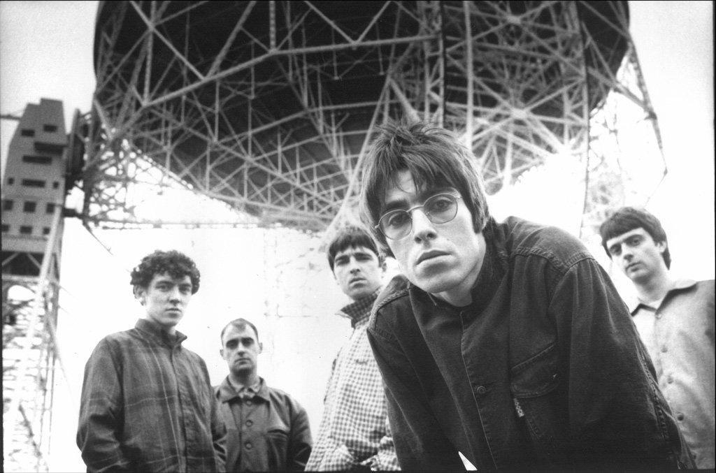 Oasis photographed at Jodrell Ba