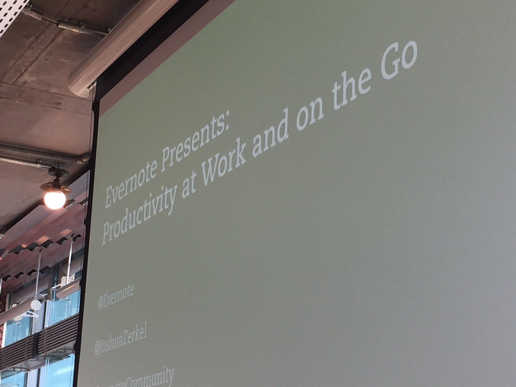 Great @evernote event in #Berlin yesterday Thx @joshuazerkel #EvernoteCommunity https://t.co/M9SGtX8OaT