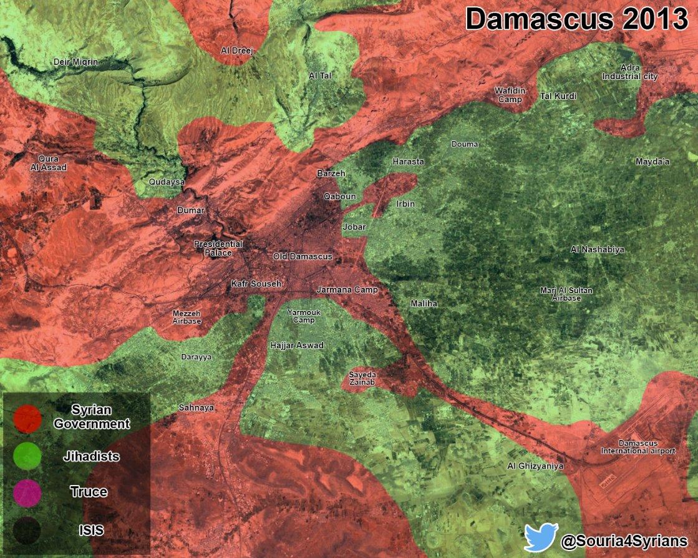 Дамаск 2013-2017. Борис Рожин. [10.05.2017]