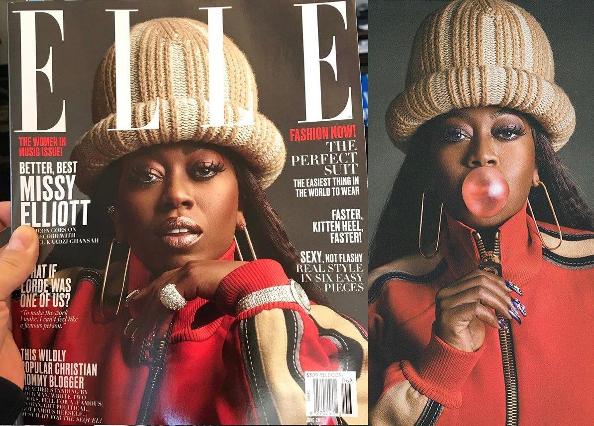 Did Marc Jacobs just leak MIssy Elliott's June @ELLEmagazine cover: https://t.co/krIVZxf39b https://t.co/hliZQW9nOe