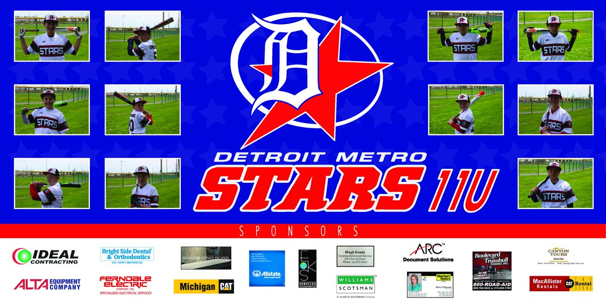 test Twitter Media - We are proud to sponsor this years Detroit Metro Stars 11U team! https://t.co/tF7RJ4rTmF