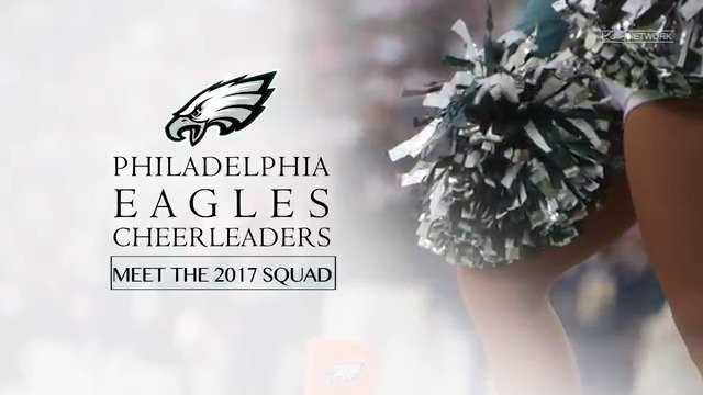 Meet the 2017 Philadelphia #Eagles Cheerleaders! https://t.co/N1hBhiTQ60
