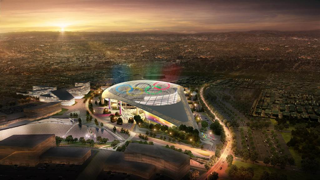 Here's what the Olympics could look like if L.A. wins 2024 bid via @NBCNewsPictures