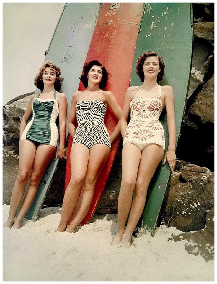 Miss Pacific finalists, Bondi Beach, New South Wales, Australia, 1952. https://t.co/zmq8TWszRM