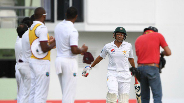 WindiesVsPak: Visitors crawl to 169/2 on rain-affected day in 3rd Test