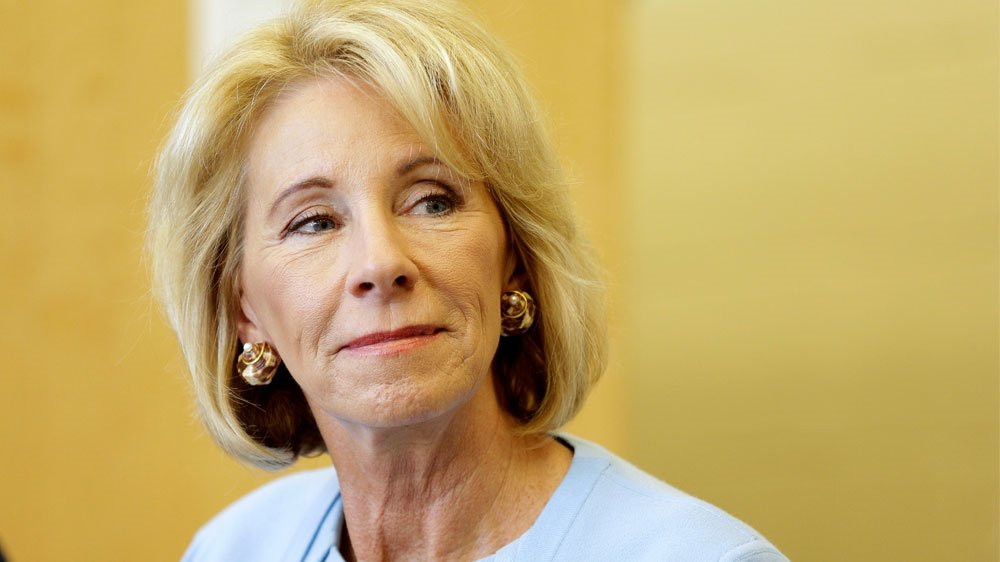 US education chief Besty DeVos booed at historically black college