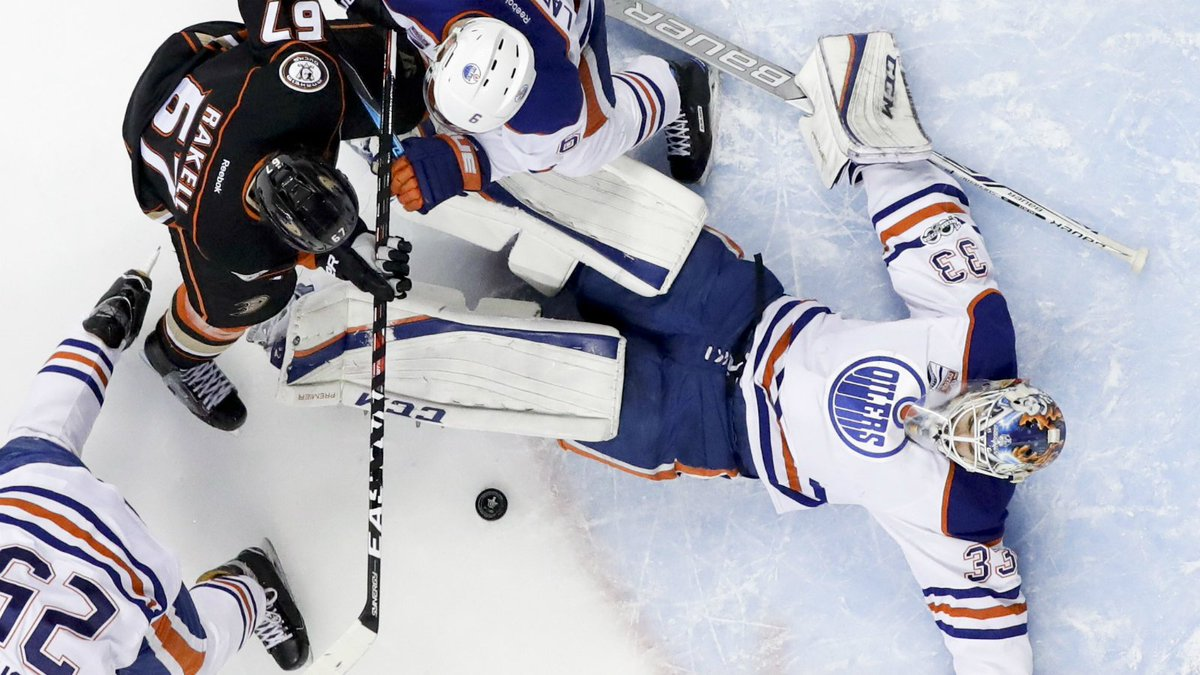 Oilers eliminated from NHL playoffs with loss to Ducks