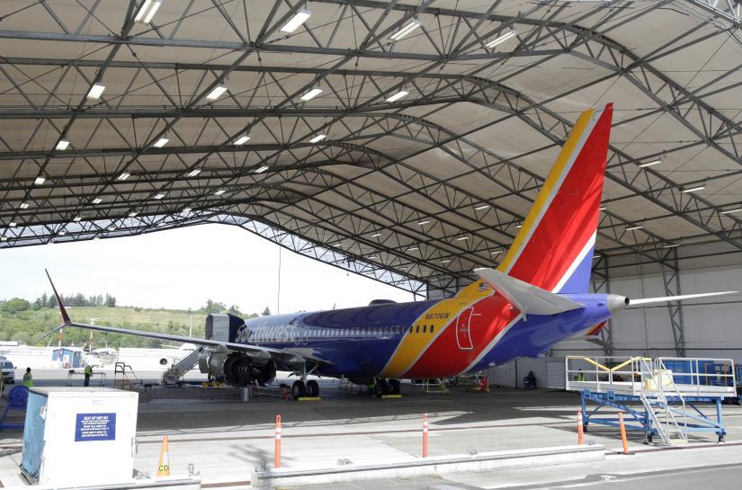 Boeing suspends 737 MAX flights due to engine issue