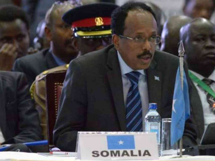 Somali president promises to defeat al-Shabab in two years
