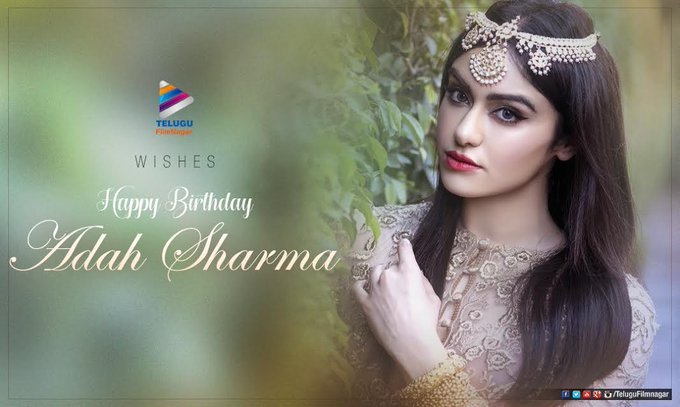 .telugufilmnagar wishes the gorgeous adah_sharma a very happy birthday :)