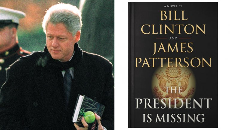 Bill Clinton's debut novel hunting for film deal