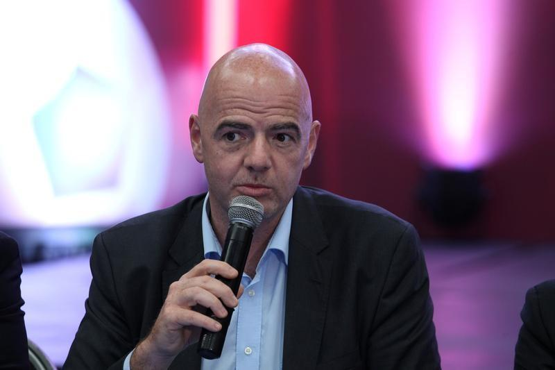 Infantino hits out at 'FIFA bashing' and 'fake news'