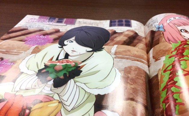 【発売中】5/10発売の『アニメディア』6月号はニーナとムガロの描き下ろしイラストと大塚プロデューサー(MAPPA)と竹