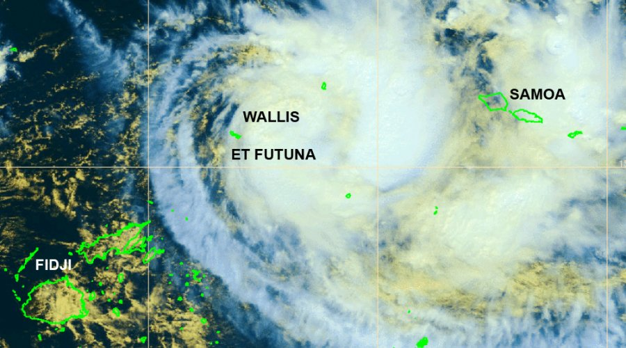 Futuna. La dépression tropicale Ella menace, l'alerte rouge déclenchée