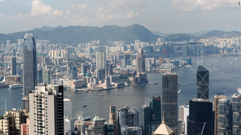 Hong Kong has dethroned London as the top market for luxury real estate