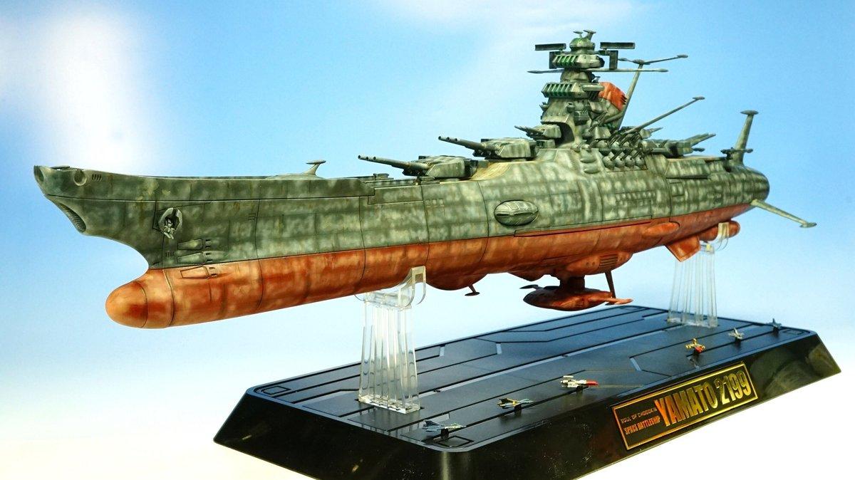 所属サークル「東ツク会」で展示するのはヤマト2199リペイント、どうぶつパイロット、エルメスのララァ、TOMCAT・TO