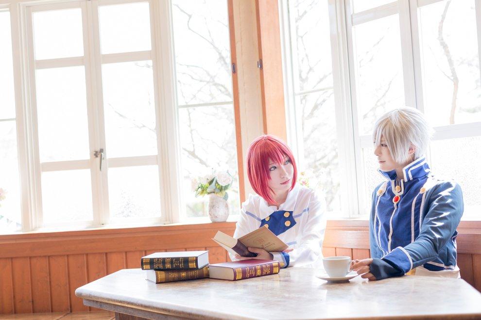 ゼン / 赤髪の白雪姫白雪 / 弥也() p:龍一( )